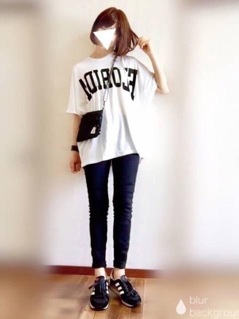 ぴょん|Discoat ParisienのTシャツ/カットソーを使ったコーディネート - WEAR (9899)