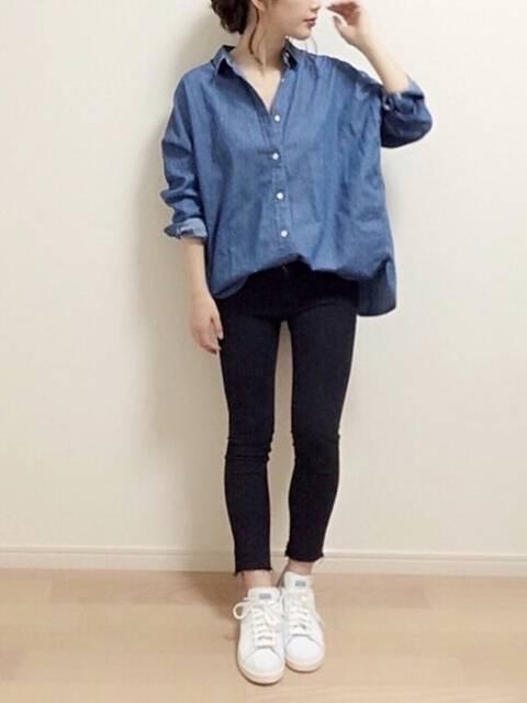 mAy☆uMe|Ray BEAMSのシャツ/ブラウスを使ったコーディネート - WEAR (9905)