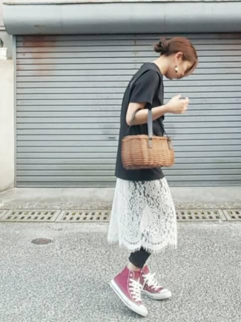 フェス🗿|X-girlのTシャツ/カットソーを使ったコーディネート - WEAR (9909)
