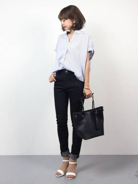 eriko(ZOZOTOWN)|AZUL ENCANTOのシャツ/ブラウスを使ったコーディネート - WEAR (9914)