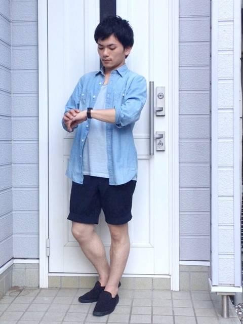 小松佑大@MBラボ|UNIQLOのシャツ・ブラウスを使ったコーディネート - WEAR (10707)