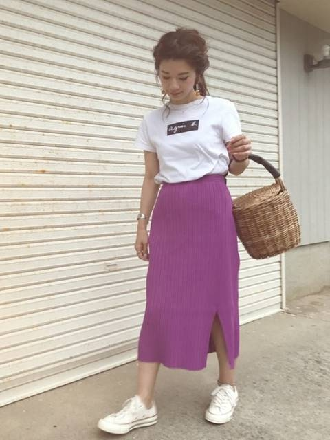 miisuuzuukii|ADAM ET ROPE'のTシャツ/カットソーを使ったコーディネート - WEAR (11116)