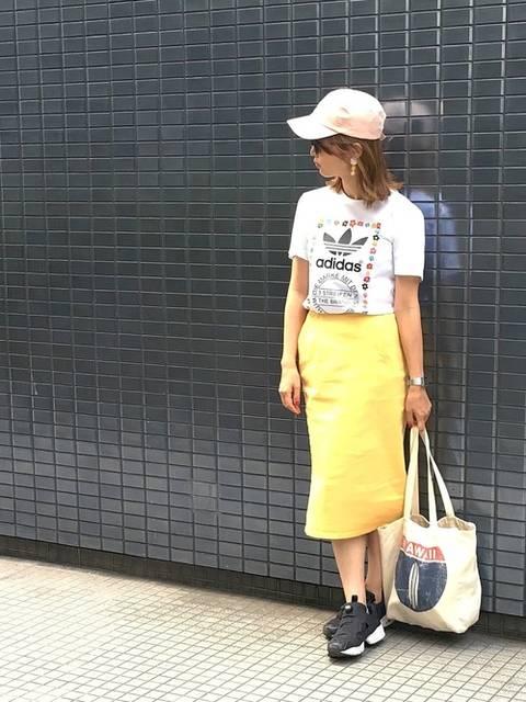 serina♡ママコーデ|RETRO GIRLのキャップを使ったコーディネート - WEAR (11139)
