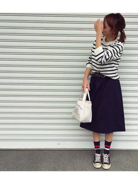eemiri|GUのスカートを使ったコーディネート - WEAR (11140)