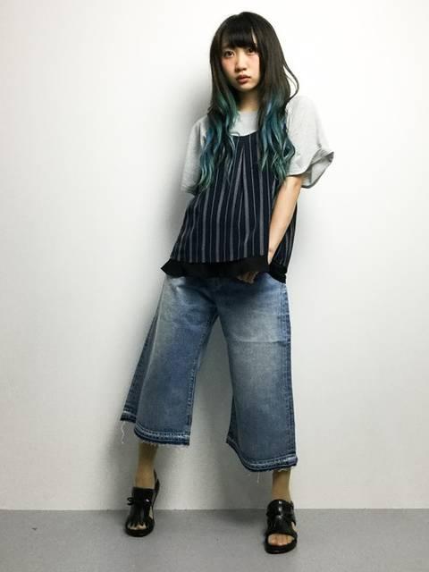 椎名成美(ZOZOTOWN)|DETAILSのTシャツ/カットソーを使ったコーディネート - WEAR (11261)