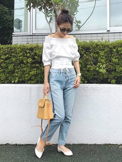 yurie|GRLのシャツ・ブラウスを使ったコーディネート - WEAR (11724)