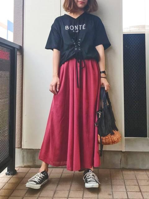 natsupoo|GRLのTシャツ・カットソーを使ったコーディネート - WEAR (11726)