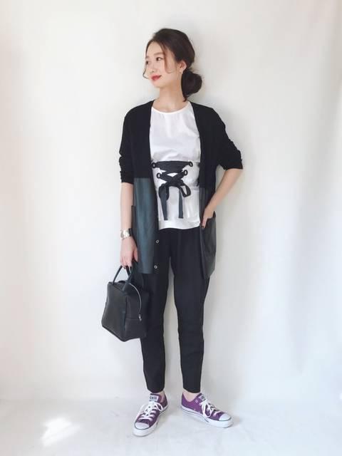 TOMOKA  |ZARAのTシャツ・カットソーを使ったコーディネート - WEAR (11727)