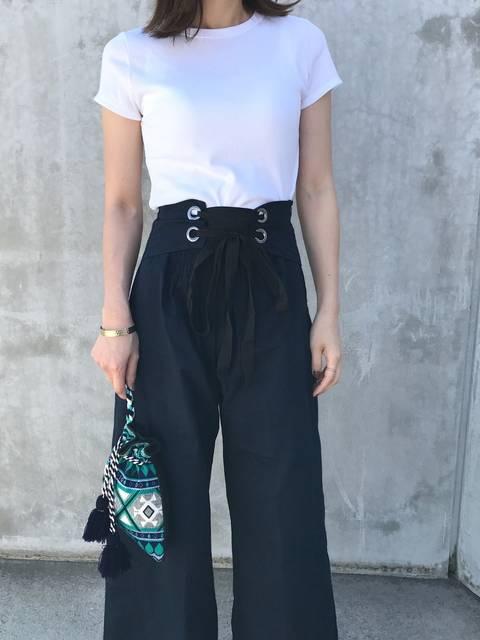 miho꙳꙳꙳|ユニクロのTシャツ(半袖 ・タンクトップ)を使ったコーディネート - WEAR (11733)