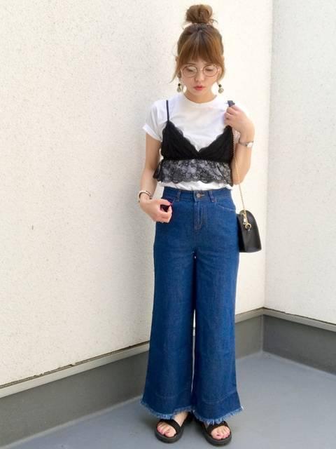 maamin♡|HANESのTシャツ/カットソーを使ったコーディネート - WEAR (11857)