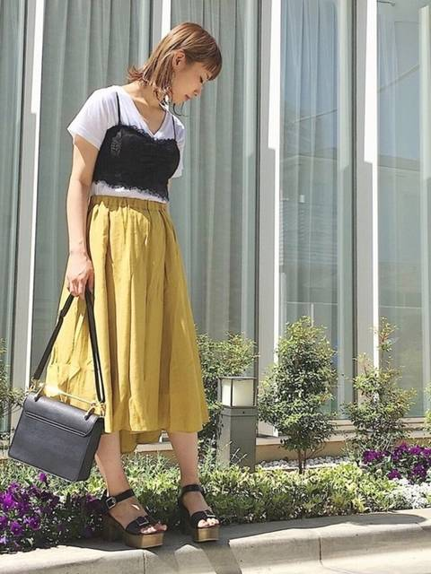 ひねち(PAGEBOY事業部)|PAGEBOYのTシャツ/カットソーを使ったコーディネート - WEAR (11864)