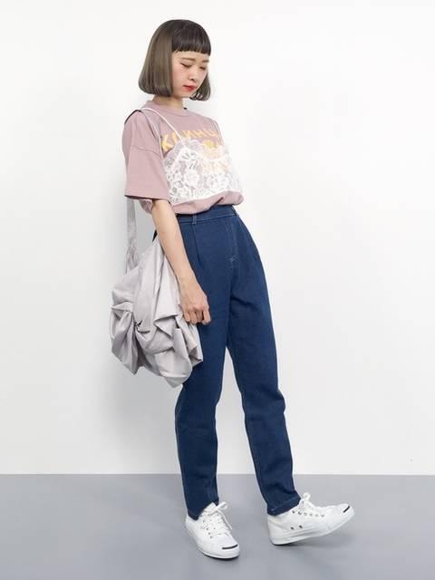 チョコビ(ZOZOTOWN)|merlotのTシャツ/カットソーを使ったコーディネート - WEAR (11869)