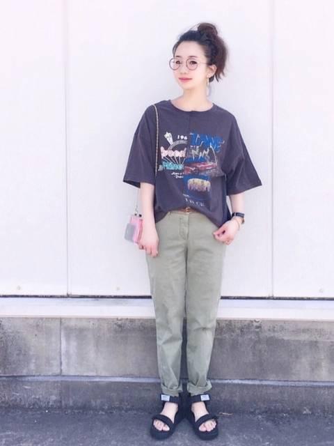 陽|w closetのTシャツ/カットソーを使ったコーディネート - WEAR (11908)