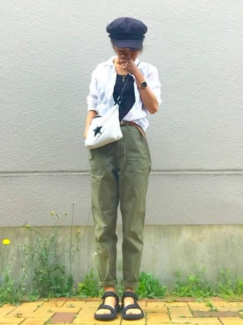 ☻おまゆ|Frank&Eileenのシャツ/ブラウスを使ったコーディネート - WEAR (11921)