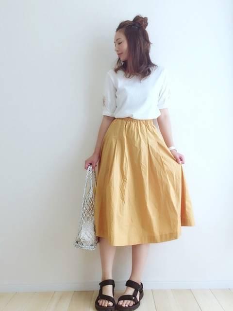 haru |THE EMPORIUMのTシャツ/カットソーを使ったコーディネート - WEAR (11932)