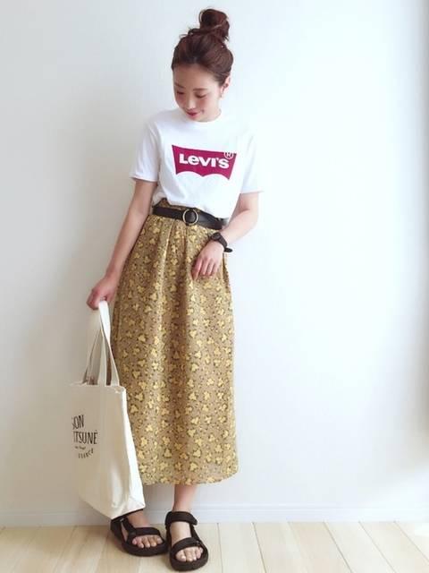 haru |Levi'sのTシャツ/カットソーを使ったコーディネート - WEAR (11934)