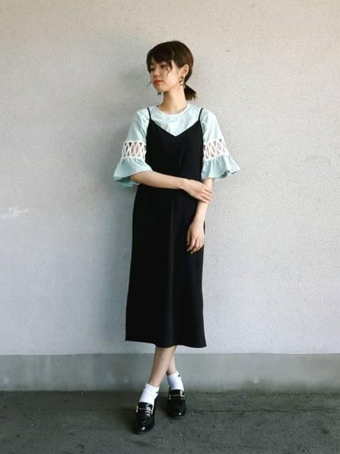 杉本侑菜|DHOLICのTシャツ・カットソーを使ったコーディネート - WEAR (12092)
