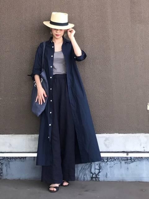 yuki|BEAUTY&YOUTH UNITED ARROWSのシャツワンピースを使ったコーディネート - WEAR (12100)