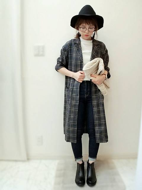 maamin♡|Another Editionのハットを使ったコーディネート - WEAR (12103)
