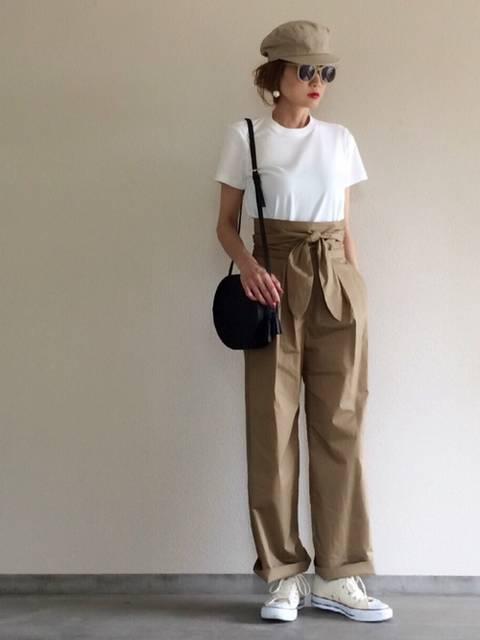 Yukie♡i|UNIQLOのTシャツ・カットソーを使ったコーディネート - WEAR (12193)
