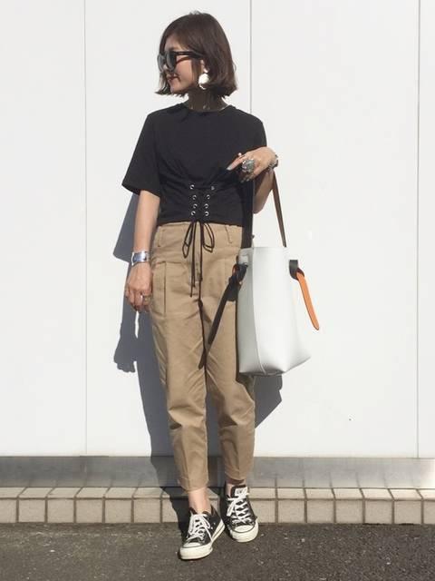k c o ◡̈♥︎|ZARAのTシャツ・カットソーを使ったコーディネート - WEAR (12212)