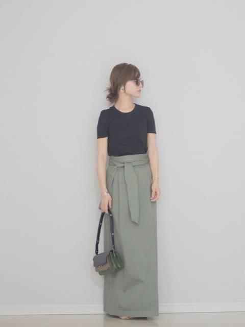 田中亜希子|PETIT BATEAUのTシャツ/カットソーを使ったコーディネート - WEAR (12315)