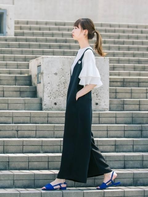 はれこ(WEB事業部)|KBFのTシャツ/カットソーを使ったコーディネート - WEAR (13054)