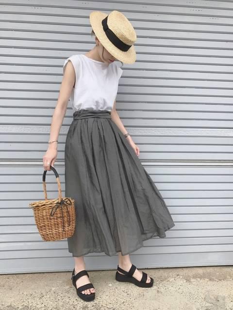 ukapi|FRAMeWORKのスカートを使ったコーディネート - WEAR (13152)
