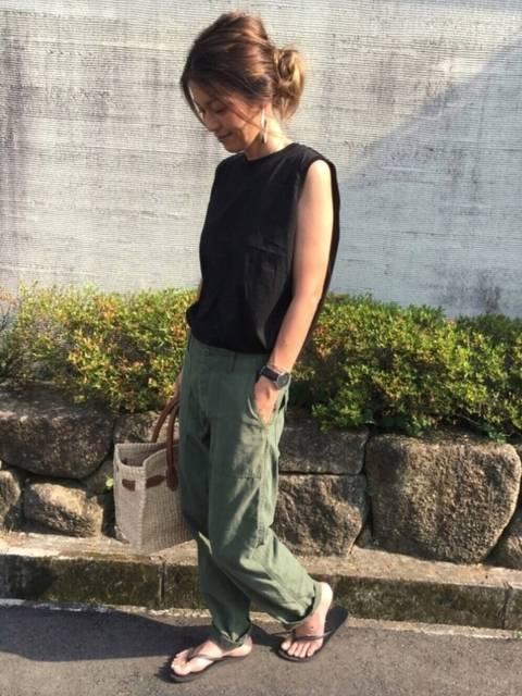 yuko|GUのTシャツ・カットソーを使ったコーディネート - WEAR (13163)