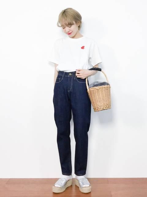 りっぴー(ZOZOTOWN)|CHILD WOMANのTシャツ/カットソーを使ったコーディネート - WEAR (13484)