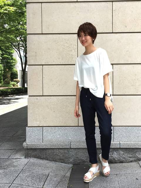 me & you|no brandのTシャツ・カットソーを使ったコーディネート - WEAR (13486)