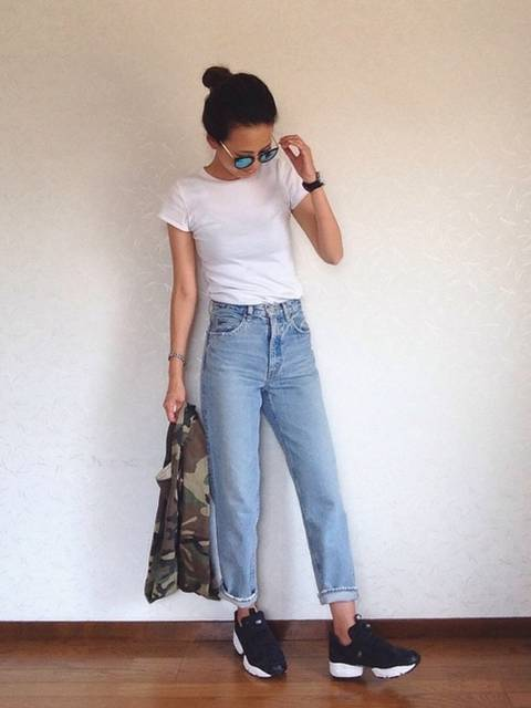 みー|UNIQLOのTシャツ・カットソーを使ったコーディネート - WEAR (13506)