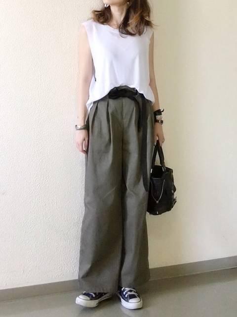 mue|Deuxieme ClasseのTシャツ/カットソーを使ったコーディネート - WEAR (13586)