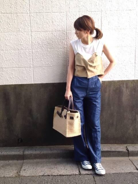 LUMIE|DouDouのTシャツ/カットソーを使ったコーディネート - WEAR (13593)