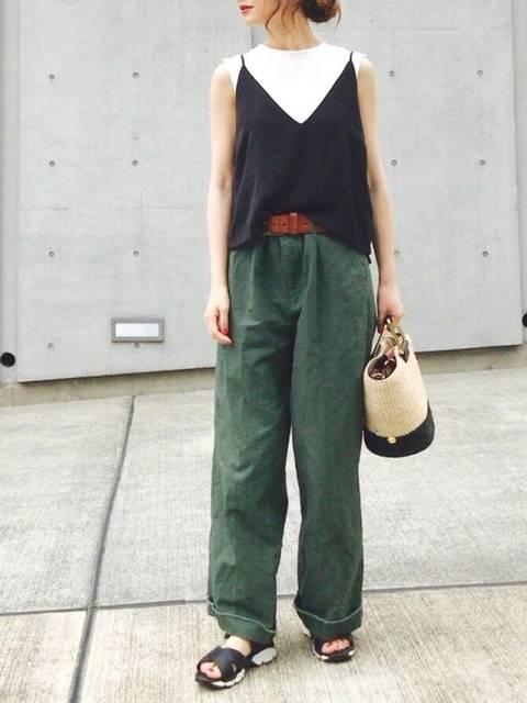 Cream|JEANASISのTシャツ/カットソーを使ったコーディネート - WEAR (13597)
