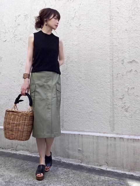 ari☆|AZUL ENCANTOのスカートを使ったコーディネート - WEAR (13600)