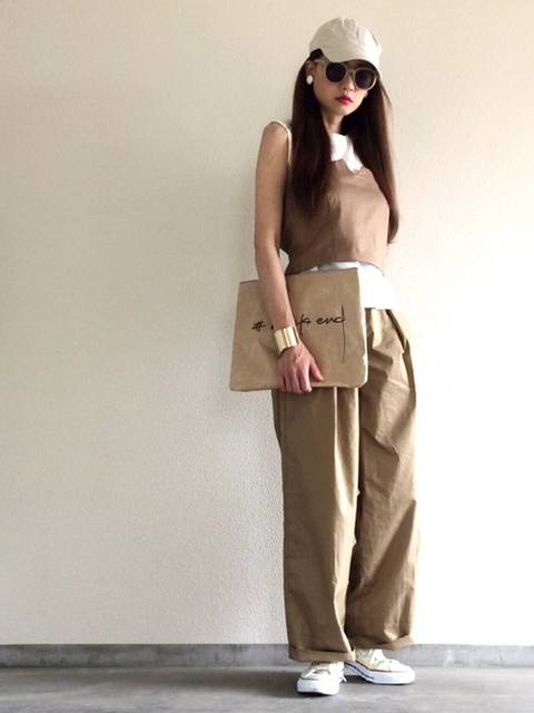 Yukie♡i|STUDIOUSのTシャツ/カットソーを使ったコーディネート - WEAR (13602)
