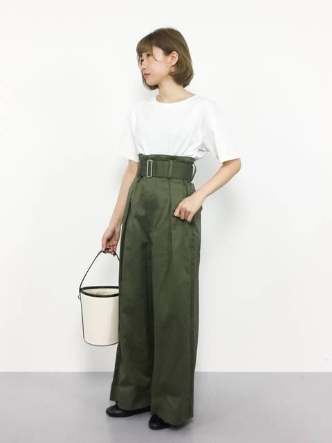 いぴ(ZOZOTOWN)|UngridのTシャツ/カットソーを使ったコーディネート - WEAR (13675)