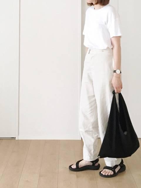 himariso|AURALEEのTシャツ/カットソーを使ったコーディネート - WEAR (13679)