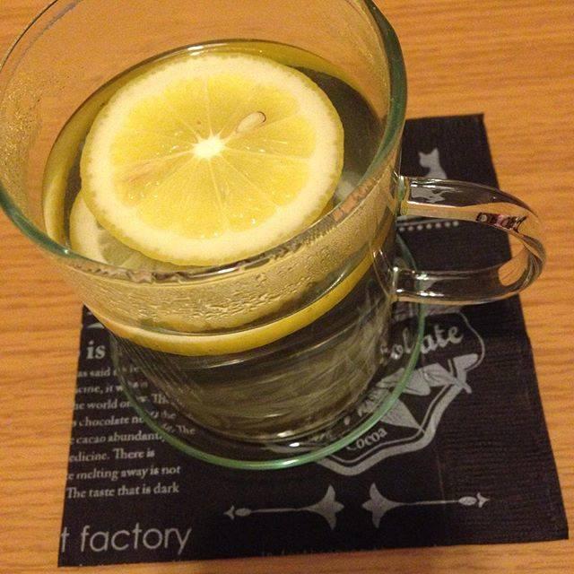 レモン白湯