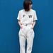 大人女子のシンプルスタイル『ハイウエスト×白Tシャツ』で決まり!可愛いコーデ集まとめ♥ - MABELLE