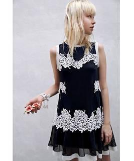 メッシュレースワンピース|snidel(スナイデル)のファッション通販 - ZOZOTOWN (4910)