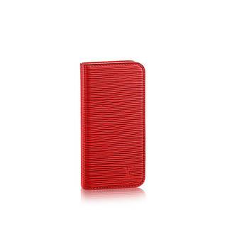 エピ・レザーが洗練された印象の「iphone6・フォリ...
