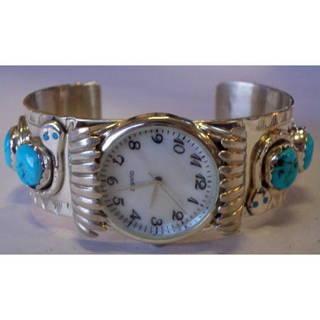 マライカ | エフィーカラバサ シルバーウォッチ | インディアンジュエリー,時計 (8323)