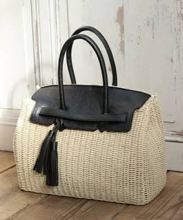 【セール】タッセルコンビボストンカゴバッグ(かごバッグ)|coen(コーエン)のファッション通販 - ZOZOTOWN (9516)