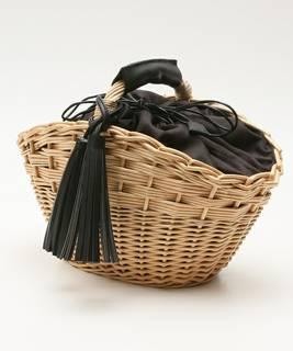 タッセルバスケット(かごバッグ)|Afternoon Tea(アフタヌーンティー)のファッション通販 - ZOZOTOWN (9518)