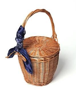 【セール】バンダナスカーフバスケット(かごバッグ)|FREAK'S STORE(フリークスストア)のファッション通販 - ZOZOTOWN (9535)