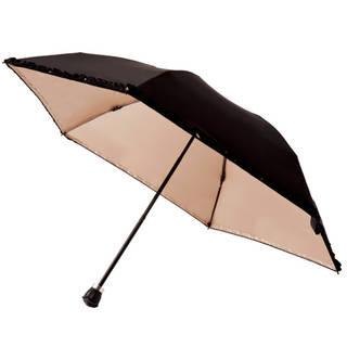 mikifille 白川みきのおリボンUVカット折りたたみ日傘 (10678)