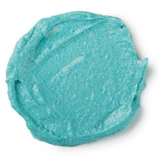 冷蔵庫から取り出し、この鮮やかなブルーのマスクを目の周...
