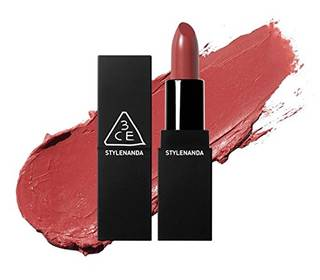 Amazon.co.jp: 3CE LIP COLOR [MATTE] NEW COLOR (#118 HOLY ROSE) [並行輸入品]: ビューティー (12080)